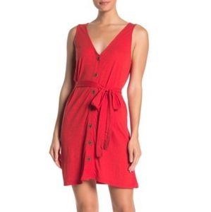 SANCTUARY XL RED SLEEVELESS DRESS